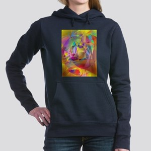 Abstract Banana Hooded Sweatshirt