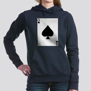 AceofspadesNew2 Women's Hooded Sweatshirt