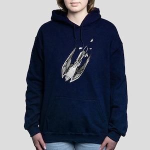 Peregrine Falcon Women's Hooded Sweatshirt