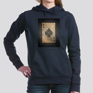 Ace Of Spades Women's Hooded Sweatshirt