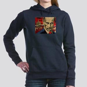 Vladimir Putin Women's Hooded Sweatshirt
