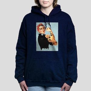 Tattooed Rosie Women's Hooded Sweatshirt