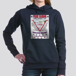 PEARL HARBOR DECEMBER 7, Women's Hooded Sweatshirt