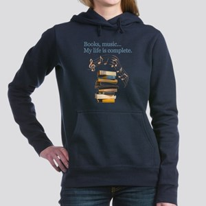 Books and music Sweatshirt