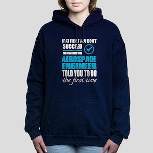 AEROSPACE ENGINEER Women's Hooded Sweatshirt