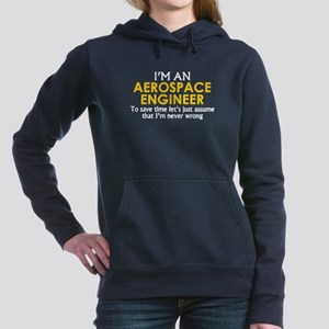 AEROSPACE ENGINEER ASSUM Women's Hooded Sweatshirt