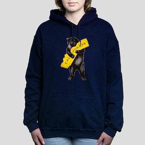 Vintage California Bear Women's Hooded Sweatshirt