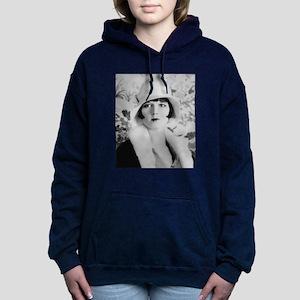 louise brooks silent mov Women's Hooded Sweatshirt