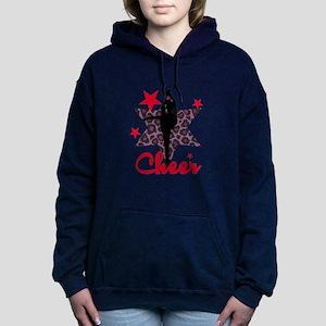 Red Cheerleader Women's Hooded Sweatshirt