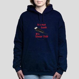 SHEAR SKILL Women's Hooded Sweatshirt