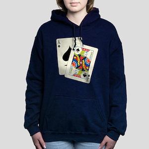 Blackjack Women's Hooded Sweatshirt