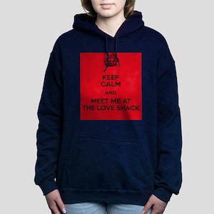 Meet me at the Love Shack Women's Hooded Sweatshir