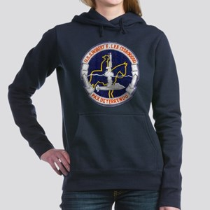 USS ROBERT E. LEE Women's Hooded Sweatshirt
