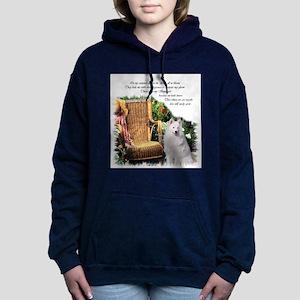 Samoyed Art Hooded Sweatshirt