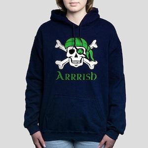 Irish Pirate Women's Hooded Sweatshirt