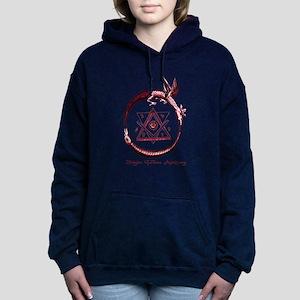 Alchemical Ouroboros Women's Hooded Sweatshirt