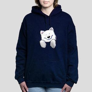 Pocket Eski Women's Hooded Sweatshirt