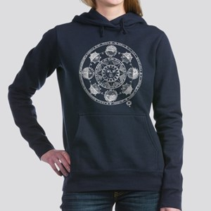 Medieval Astronomy Sun a Women's Hooded Sweatshirt
