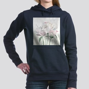 Beautiful Peony Women's Hooded Sweatshirt