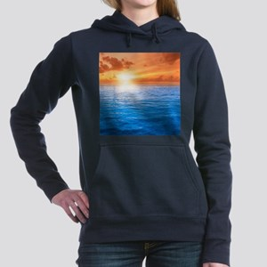 Ocean Sunset Women's Hooded Sweatshirt