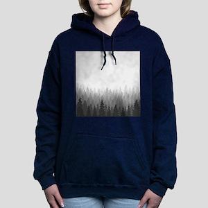 Gray Forest Women's Hooded Sweatshirt