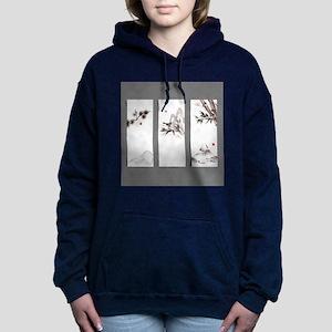 japanese Women's Hooded Sweatshirt
