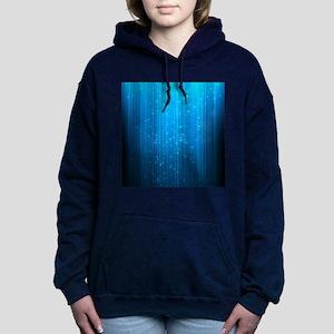 Magical Stars Women's Hooded Sweatshirt