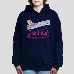 World's Best Dietitian Women's Hooded Sweatshirt
