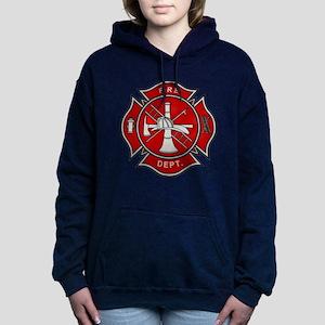 Fire Dept. Women's Hooded Sweatshirt