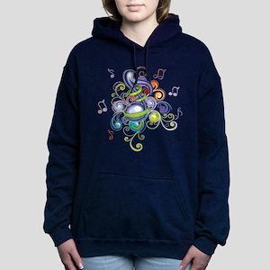 Music in the air Women's Hooded Sweatshirt