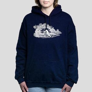 Antique Woodcut Aesop's Women's Hooded Sweatshirt