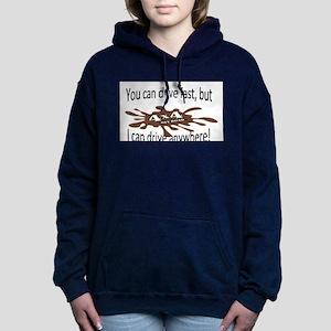 4x4 Drive anywhere! Women's Hooded Sweatshirt