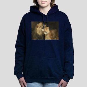 LOVE AT FIRST Women's Hooded Sweatshirt