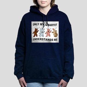 ANIMAL QUARTET Hooded Sweatshirt