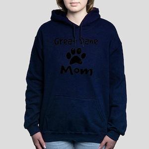 Great Dane Mom Women's Hooded Sweatshirt