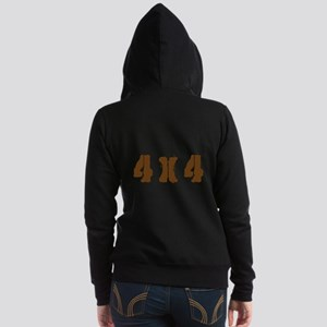 Off Road 4 X 4 Women's Zip Hoodie