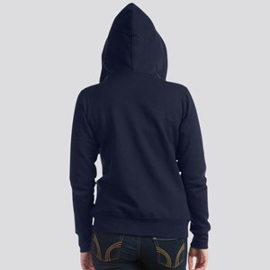 Friends TV Names Women's Zip Hoodie