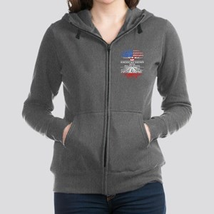 American Grown With Polish Roots Sweatshirt