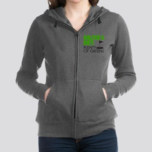 Golfer's Diet: Plenty Of Greens Zip Hoodie