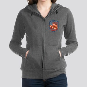 America Love it Women's Zip Hoodie