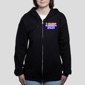 Trump 2020 Women's Zip Hoodie