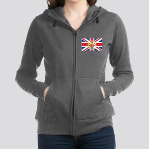 British Flag with Royal Crest Sweatshirt
