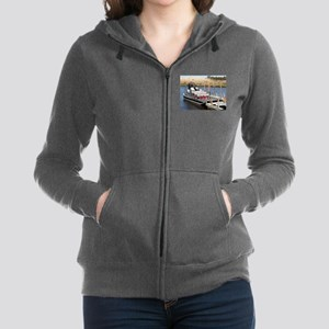 Florida swamp airboat Women's Zip Hoodie