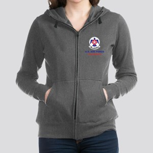 United States Air Force Thunder Women's Zip Hoodie