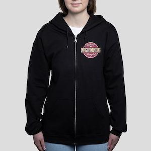 Official Gilmore Girls Fangirl Women's Zip Hoodie