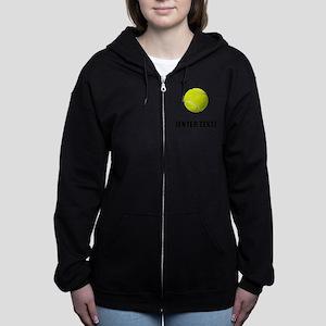 Tennis Personalize It! Women's Zip Hoodie