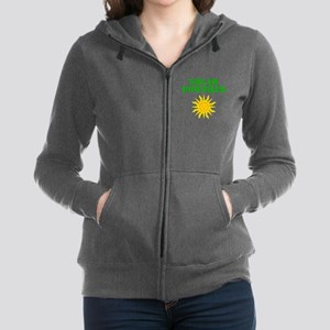 Solar Powered Women's Zip Hoodie