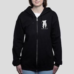 Love-a-bull Women's Zip Hoodie