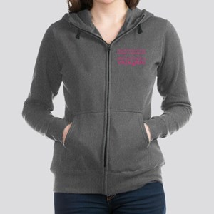 Mother Trained a Valkyrie Women's Zip Hoodie