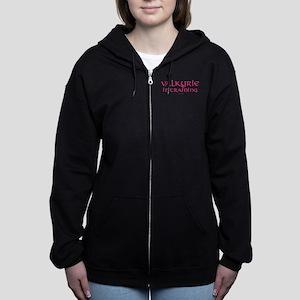 Valkyrie-in-Training Women's Zip Hoodie